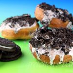 Vegan Oreo Cookies and Cream Donuts