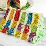 Easy Easter Checkerboard Cake