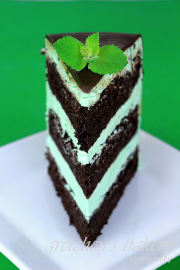 Mint Chocolate Chip Cake