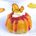 Peach Melba Princess Cakes