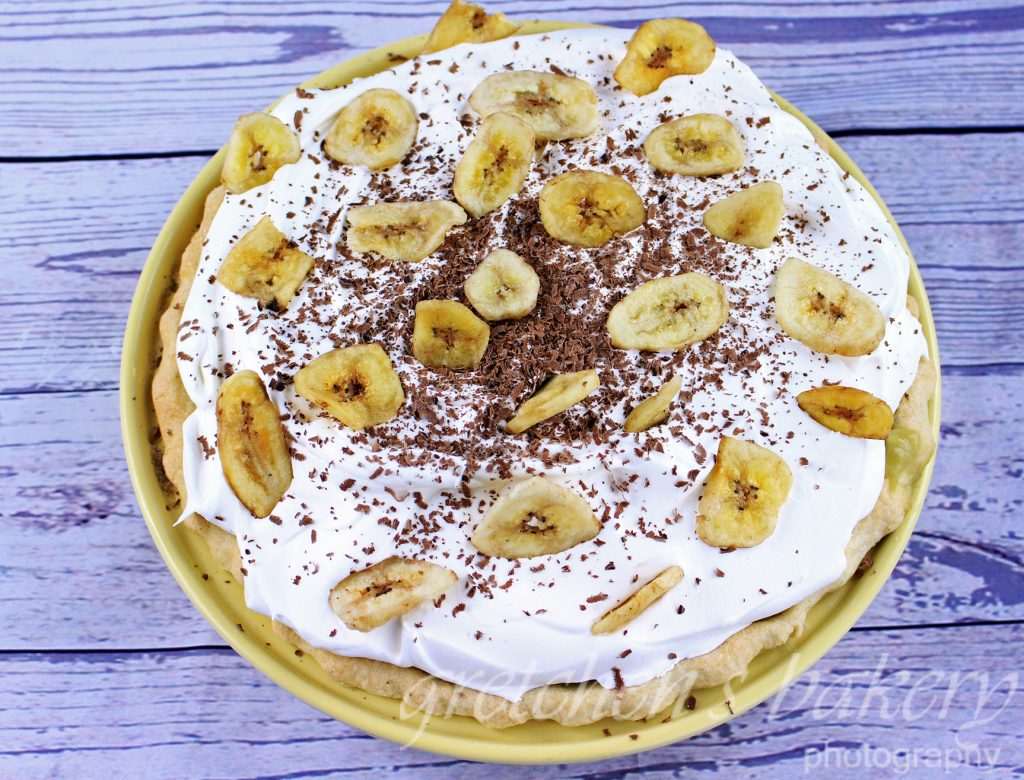 Black Bottom Banana Cream Pie~ VEGAN!