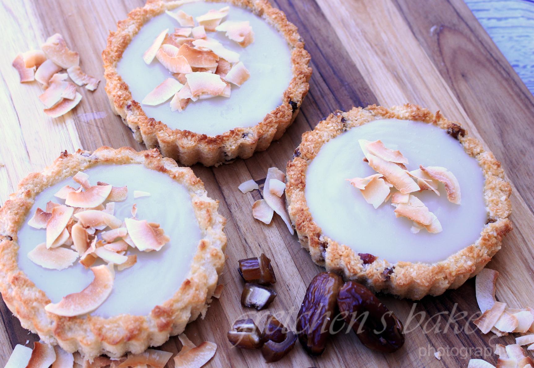 Vegan Coconut Custard Pie