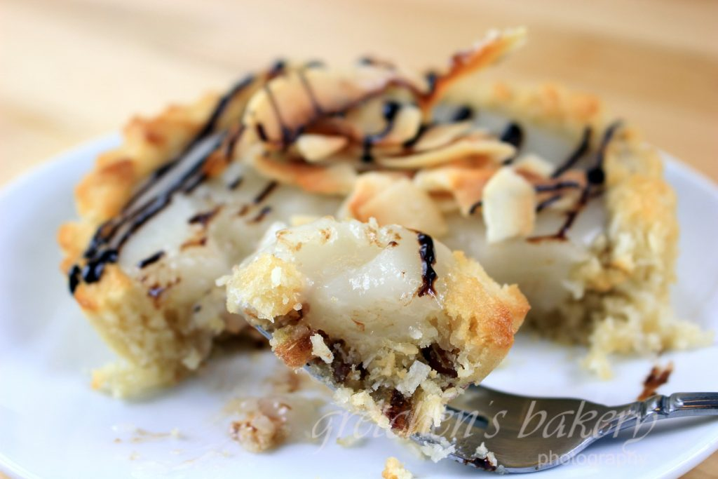Vegan Coconut Custard Pie