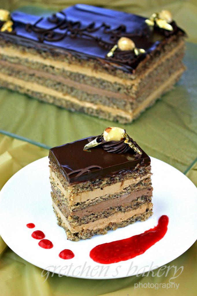 Vegan Opera Cake