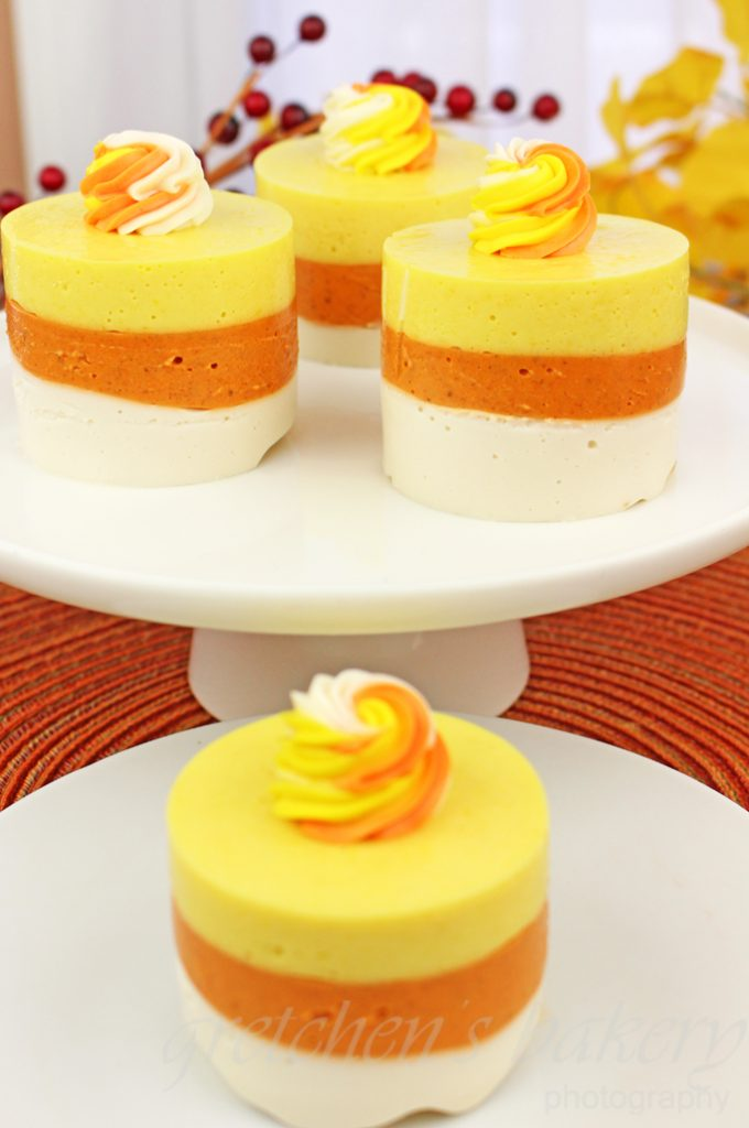 Vegan Candy Corn Cheesecake ||No Bake