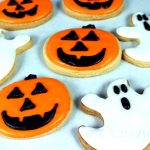 Vegan Halloween Sugar Cookies