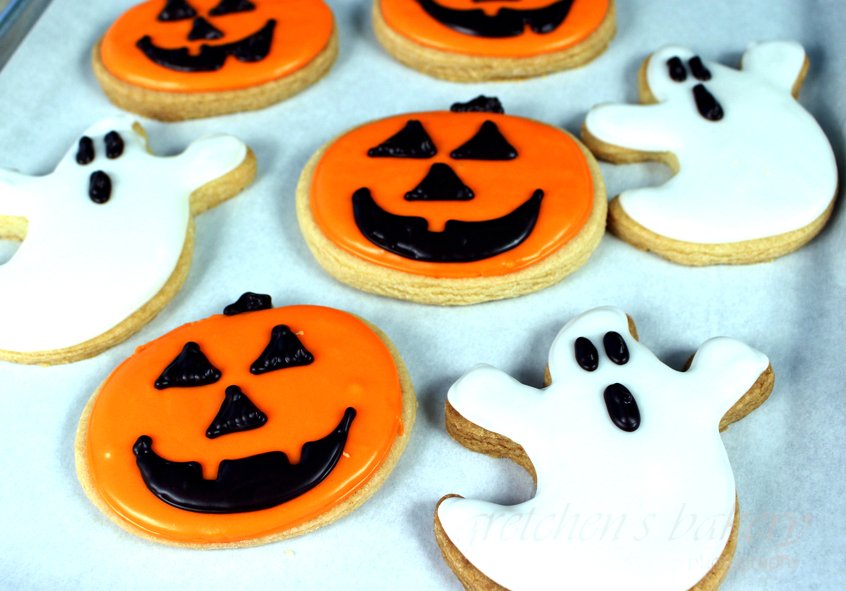 vegan halloween sugar cookies - gretchen's vegan bakery