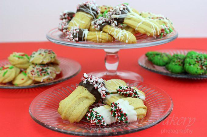 Vegan Spritz Cookies