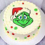 Easy Grinch Cake~ 2 recipes no special tools!