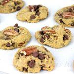 Vegan Butter Pecan Cookies