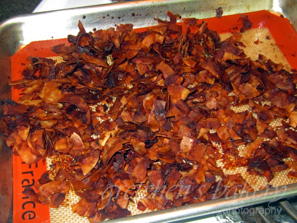 Crispy Smoky Coconut Bacon