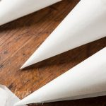 How to make a Parchment Paper Cone for cake decorating