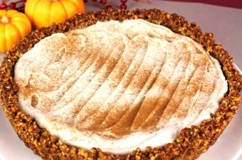 Vegan Pumpkin Cream Pie