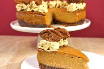 Vegan Pupkin Cheesecake