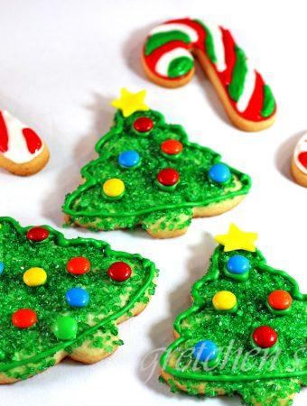 Vegan Christmas Cookies The Best Sugar Cookie Dough Recipe