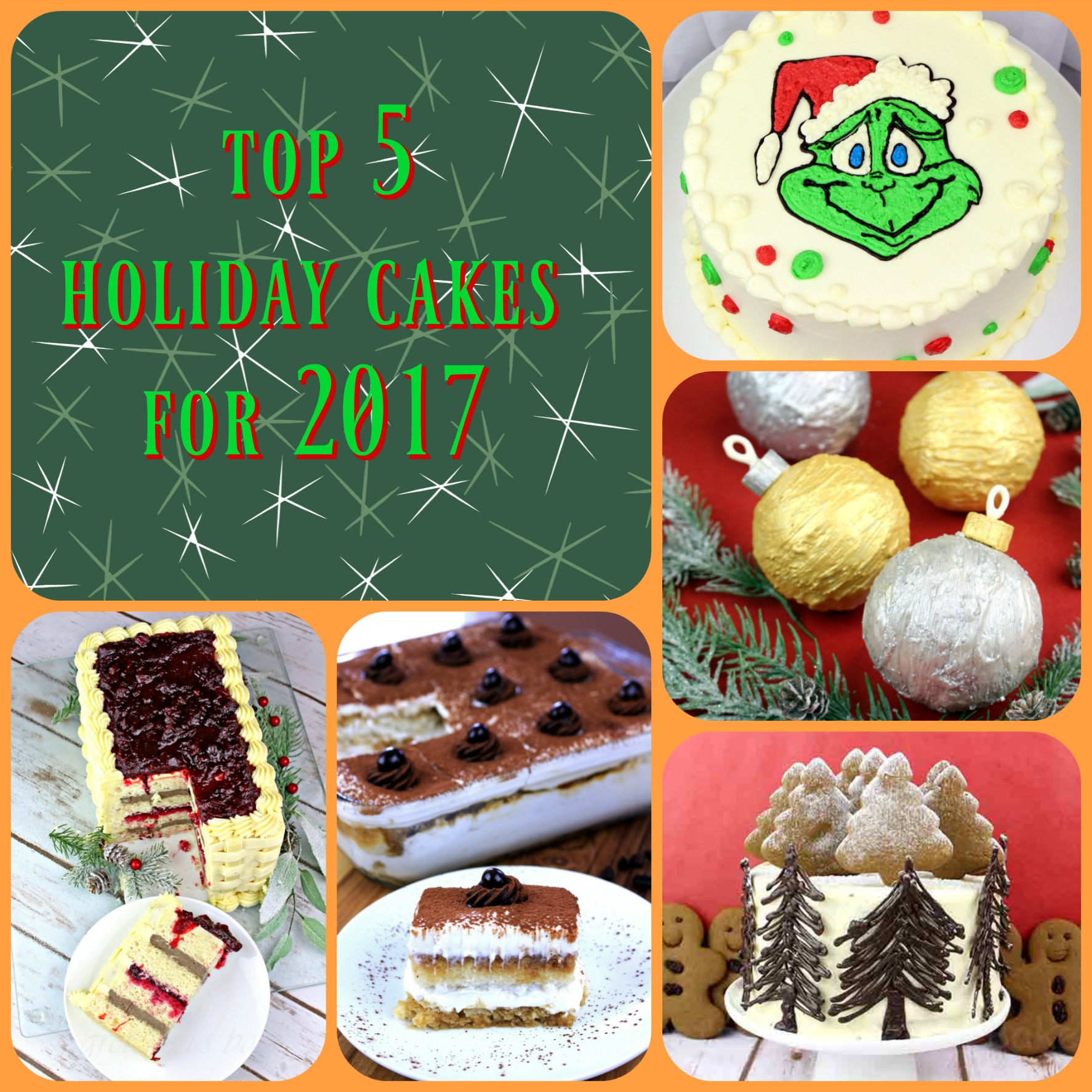 Top 5 Holiday Cakes you Must Make this Season!