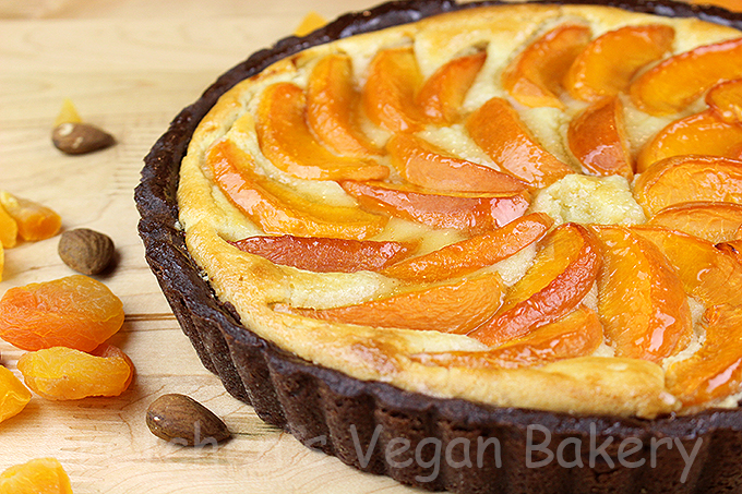 Vegan Apricot Frangipane Tart