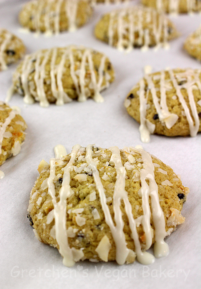 Orange Coconut Drop Cookies