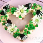 St. Patrick's Day Cookie & Cream Cake