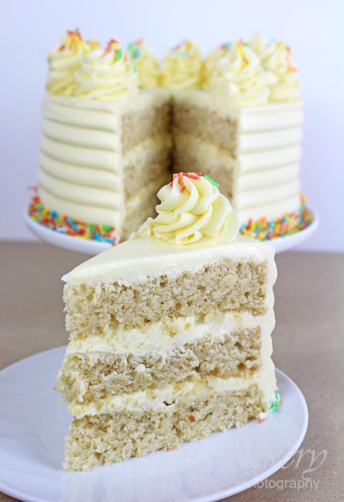 The Best Vegan Vanilla Cake Recipe