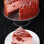 Vegan Red Velvet Cheesecake