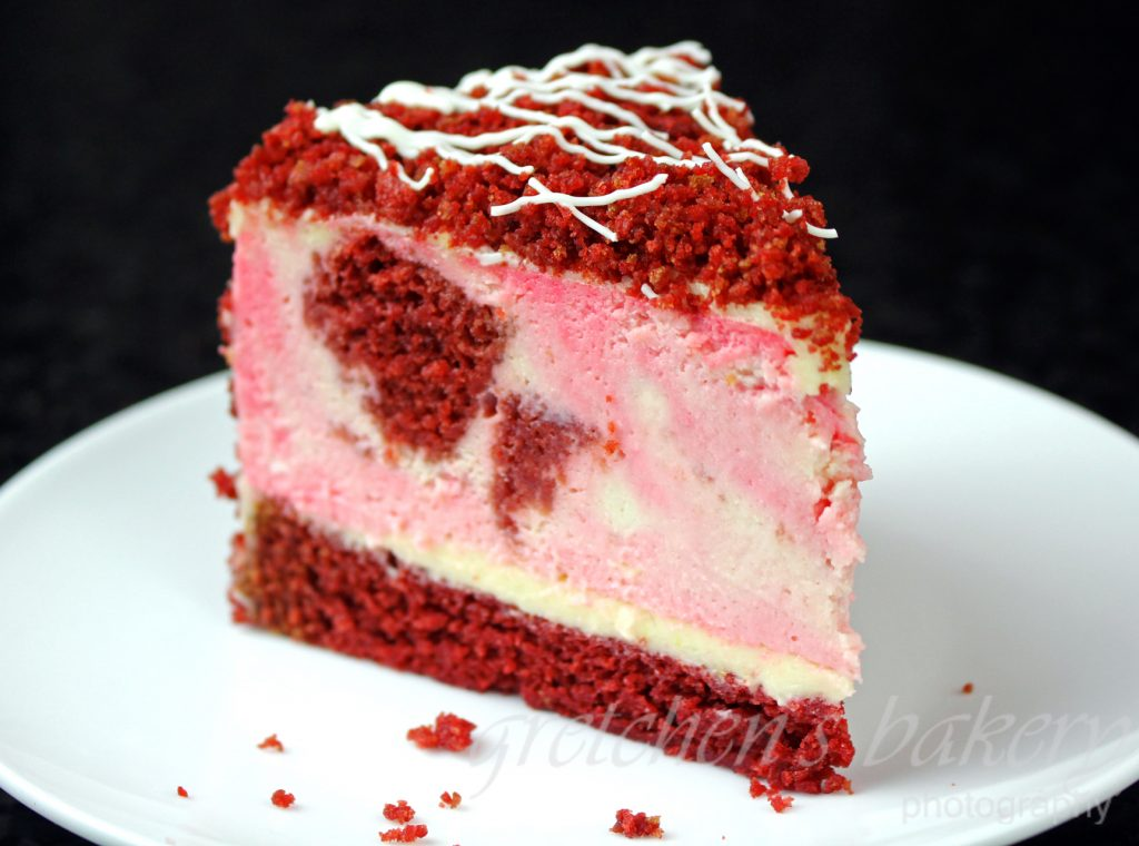 Vegan Red Velvet Cheesecake