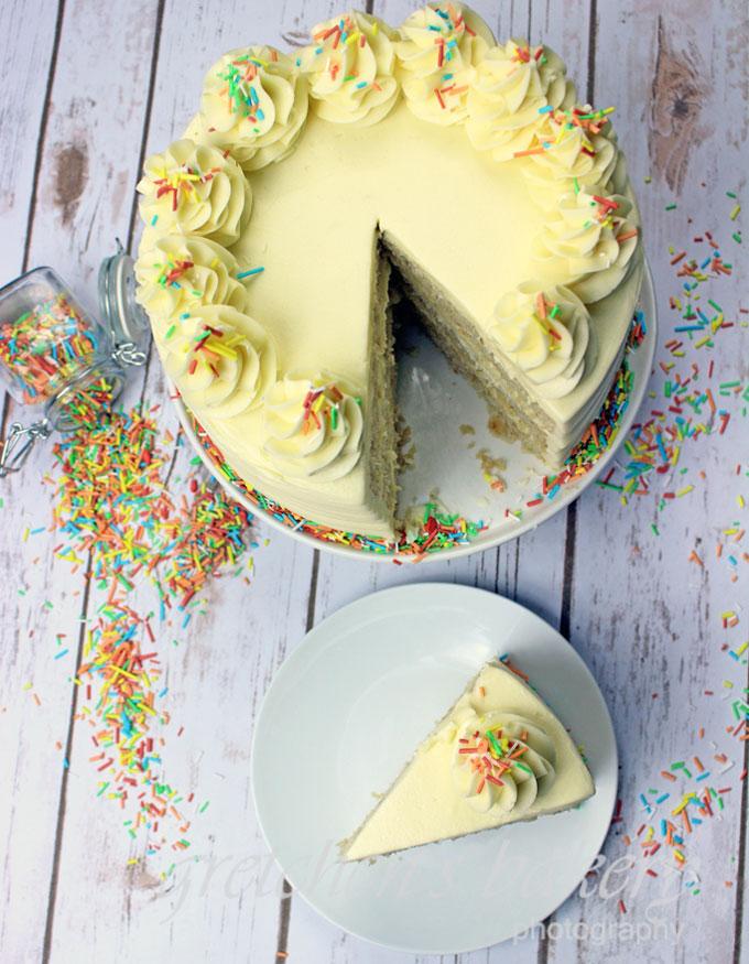 The Best Vegan Vanilla Cake Recipe - Gretchen\'s Vegan Bakery