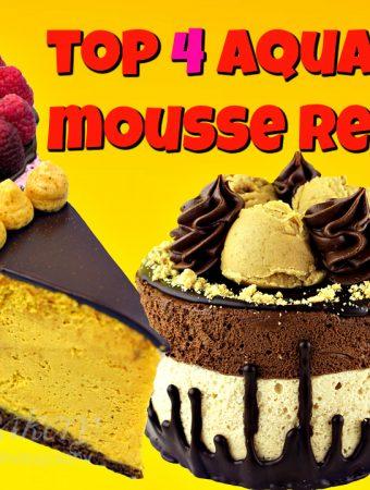 Top 4 Aqauafaba Mousse Recipes
