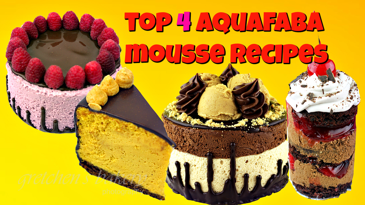 Top 4 Aqauafaba Mousse Recipes