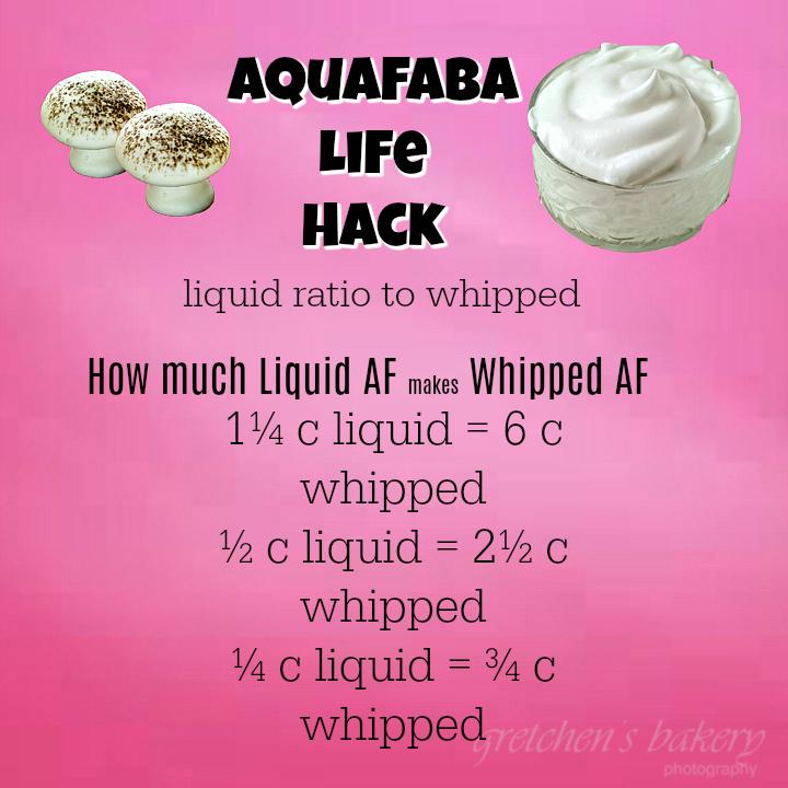 Aquafaba Life Hack