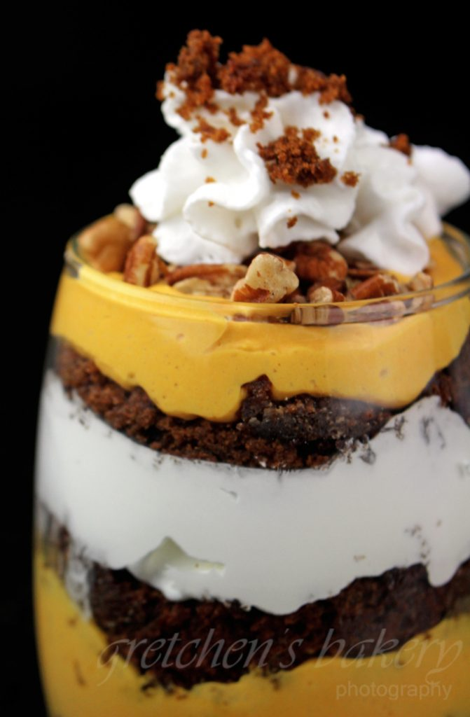 Vegan Pumpkin Mousse Trifle
