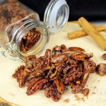Vegan Candied Pecans- with Aquafaba!