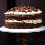 Coffee Toffee Cream Cake