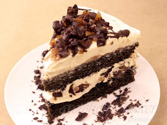 Coffee Toffee Cream Cake