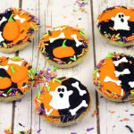 Halloween Black and White Cookies in 30 minutes!