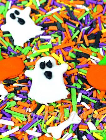 Homemade Halloween Sprinkles