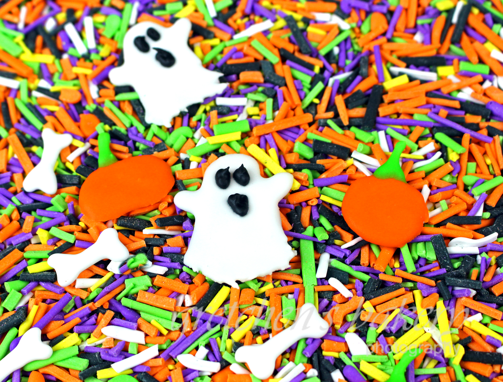 Homemade Halloween Sprinkles