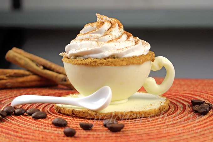 White Chocolate Pumpkin Mousse Latte