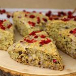 Cranberry Maple Walnut Scones