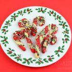 Vegan Candy Cane Cookies