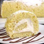 Cannoli Roll Cake