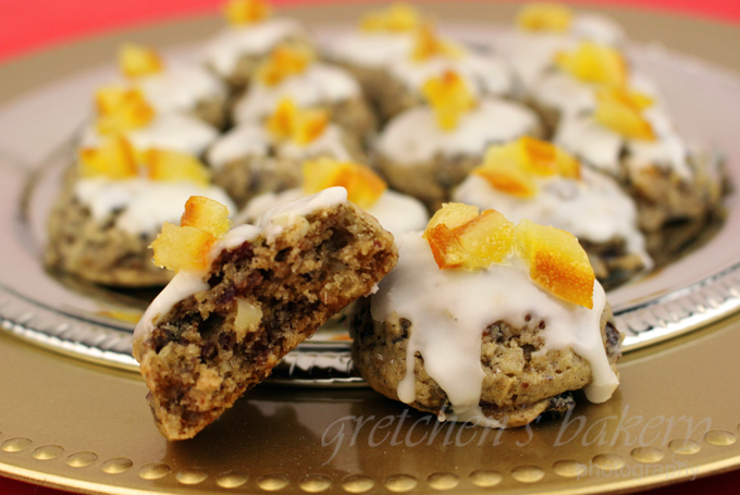Vegan Fruitcake Cookies
