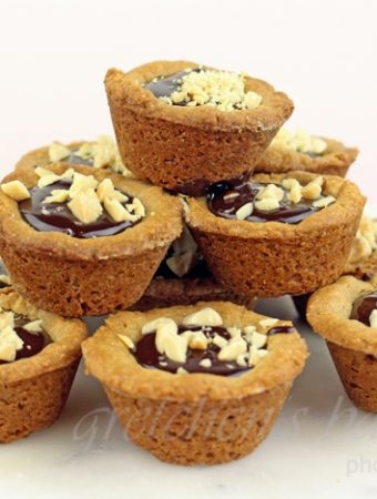 Inside Out Peanut Butter Cookie Cups