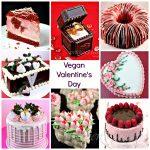 Vegan Valentine's Day Cakes