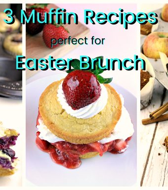 3 Muffin Recipes Perfect For Easter!