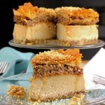Vegan Maple Baklava Cheesecake