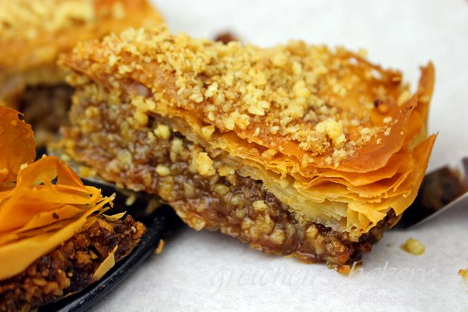 Vegan Maple Baklava Cheesecake
