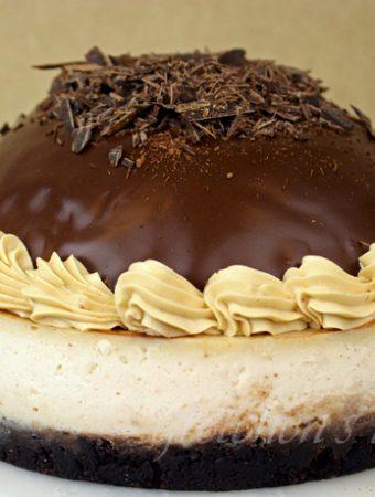 Vegan Chocolate Mousse Cheesecake