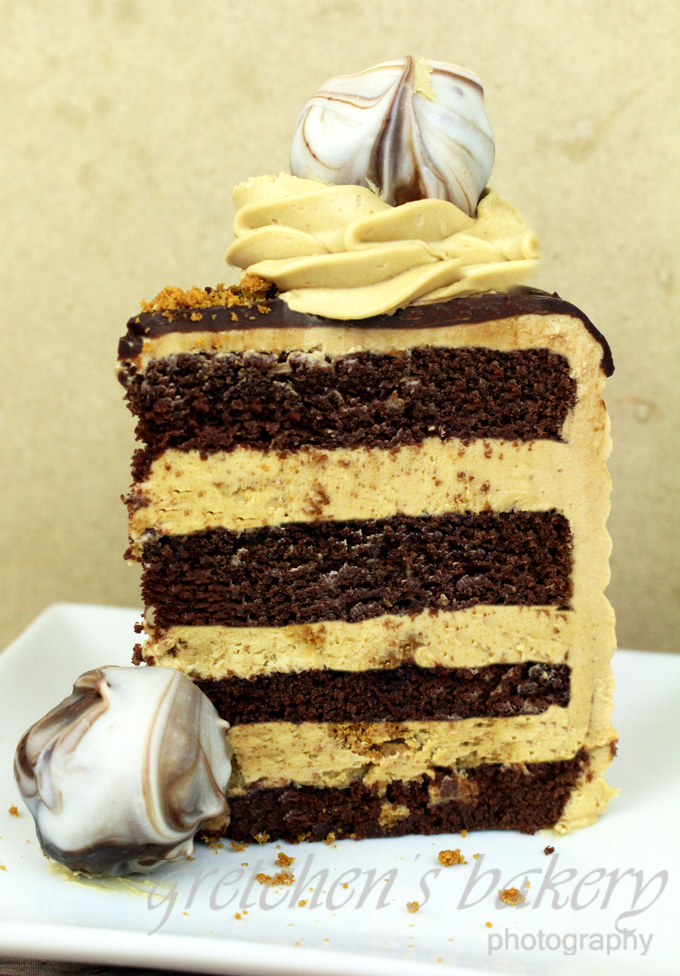 Cookie Butter Crunch Cake