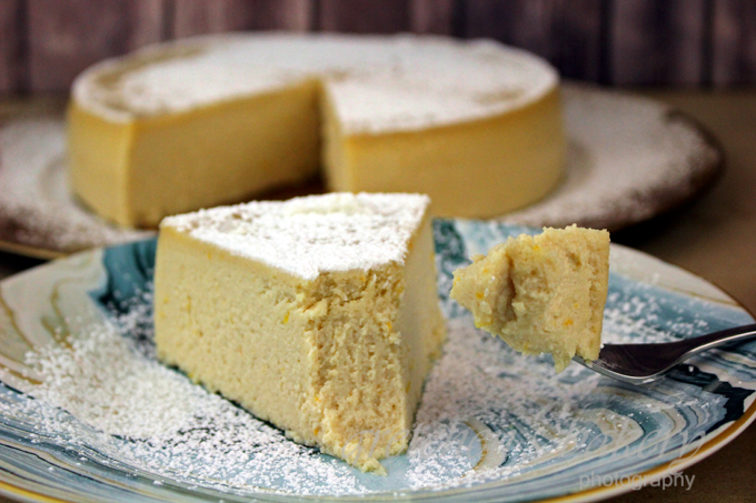Italian Ricotta Cheesecake Vegan